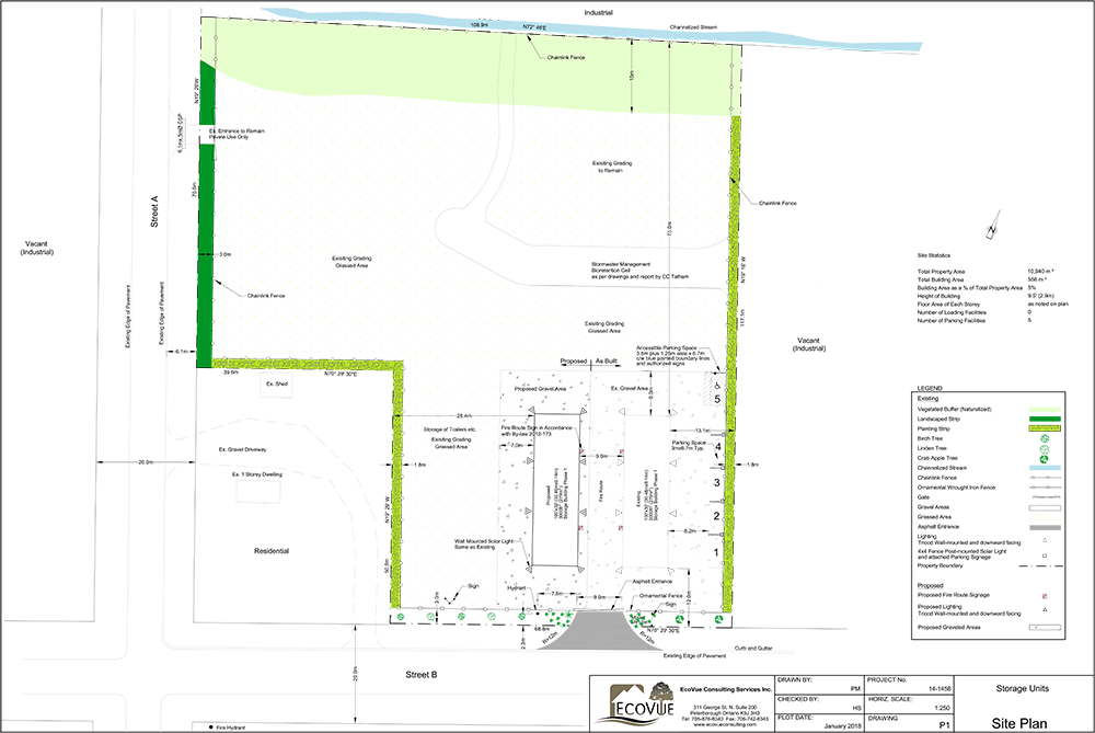Site Plan Design And Approvals Ecovue Consulting Services Inc